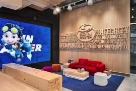 玩具龙头老大Spin Master办公室:创意趣味空间,让办公更快乐!
