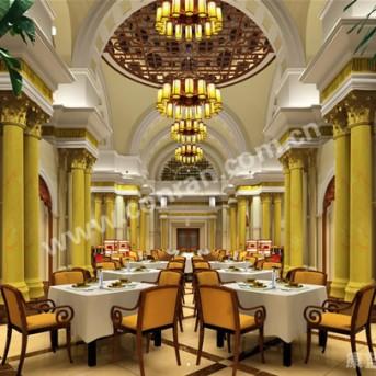 1100平米新中式餐厅设计
