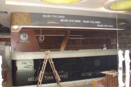 深圳名顿咖啡餐厅装饰设计工程正式进入装修施工阶段