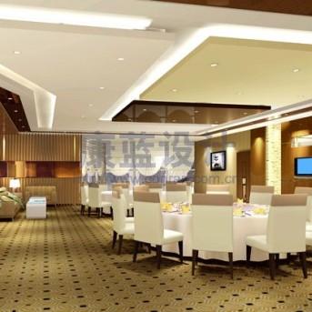 广东大亚湾核电服务公司荷风餐厅设计