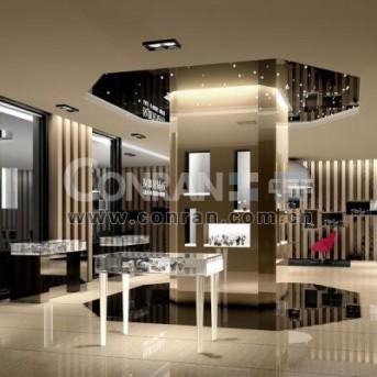 深圳拉朗尼金表专卖店设计