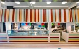 雅致冰淇淋专卖店装修设计