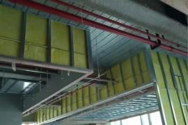 广州科学城A2大楼装饰设计和装修施工现场图