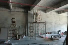 国际E城办公室装修施工现场图