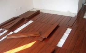 实木地板铺设施工工艺(图)