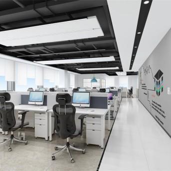 深圳松博信息咨询公司办公室装修设计项目