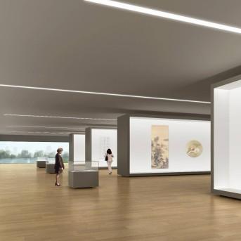 天津美术馆展览厅设计