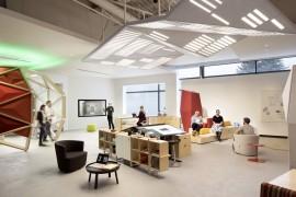 在办公空间中加入动态化设计?不得不服微软这波操作!