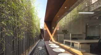 庭院深深深几许?水石国际米川工作室将办公室打造成了古典园林