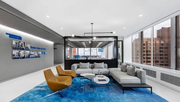 360°环景视野,高等级灰配色,这家金融集团官网告诉您什么是牛逼work使用室