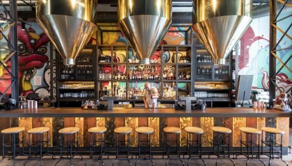 纽约宝瑞50高等级餐厅饭馆策划:浓厚中国风,呈现唐人街奇特风光