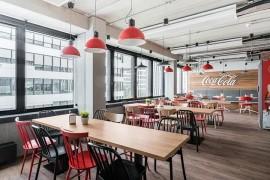 可口可乐work使用室策划:洋溢热情与活力的开放式容量