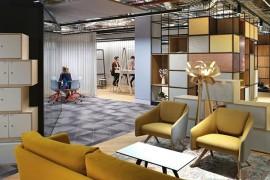 普华永道伯明翰work使用室策划:以都市圆素为性状,打造奇特体块容量