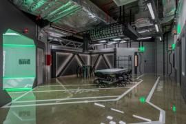 曼谷科幻主题办公室设计:在宇宙飞船里上班是什么体验?