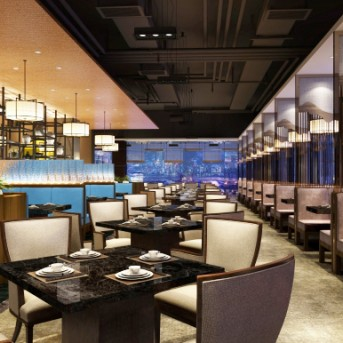 深圳粮好餐点餐厅设计