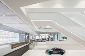 保时捷中国总部办公室设计:速度与激情 酷爆了!