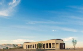 阿联酋沙漠酒店设计,适应生态的建筑之美