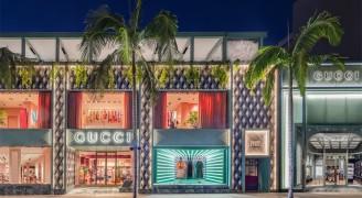 洛杉矶Gucci餐厅设计:用设计诠释品牌的魅力