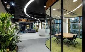 既私密又开放办公室设计装修,员工看了都忍不住称赞!