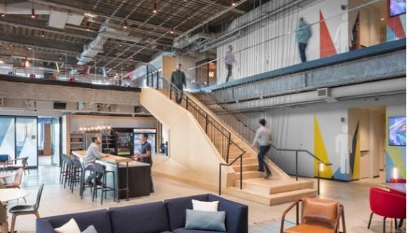 苹果谷歌等全球8个知名科技公司的办公室,原来是这样装修设计的!