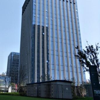 康蓝建设最新前海弘毅大厦办公室设计作品